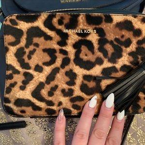 Michael Kors leopard bag